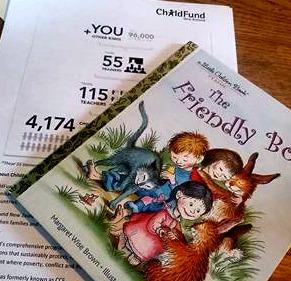friendly book read kids childfund