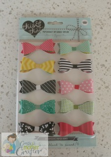 paper bows crazy mother crafter